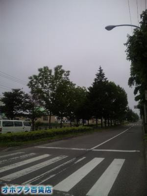 6/26:オホブラ百貨店・今朝の北見市