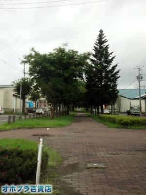 8/27:オホブラ百貨店・今朝の北見の空