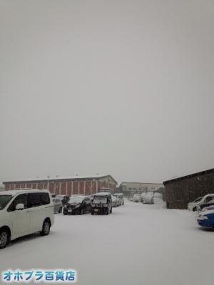 12/16:オホブラ百貨店・今朝の北見市のタマネギ倉庫