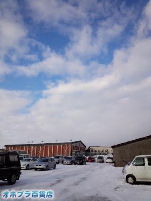 12/26:オホブラ百貨店・今朝の北見市のタマネギ倉庫