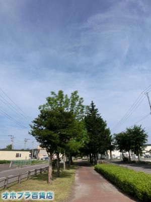 7/31:オホブラ百貨店・今朝の北見市