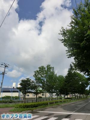7/3:オホブラ百貨店・今朝の北見市
