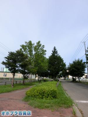 8/26:オホブラ百貨店・今朝の北見市