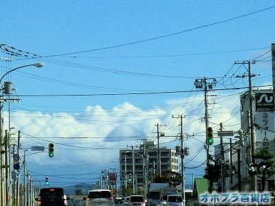 10/04:オホブラ百貨店・今朝の北見市