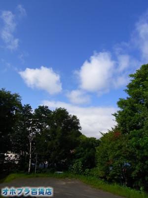 08-18:オホブラ百貨店・今朝の北見市