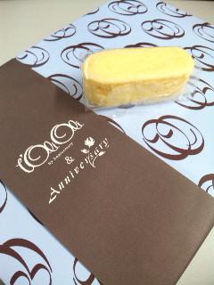 L'OLIOLI(ロリオリ)の『しっとりチーズスフレ』