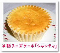 半熟チーズケーキ「シャンティ」