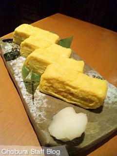 遊食厨房 いっこん家:西山さん家の平飼自然卵で焼きたて玉子焼き