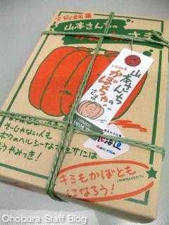 士別銘菓「山本さんちのかぼちゃさま」