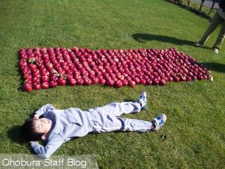リンゴと少年