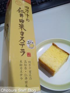 宮内商店「四万十の仁井田米カステラ」