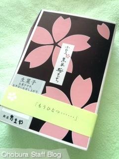 銀座たまや「小ひとつ 黒米桜もち」
