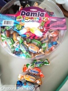 DDamla SOUR(ダムラサワー)ソフトキャンディ