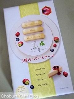 石屋製菓「美冬」3種のベリーとチーズ(期間限定)