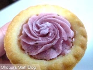 花びら舞う桜タルト